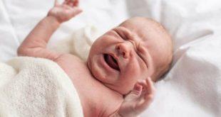 درمان نفخ نوزاد